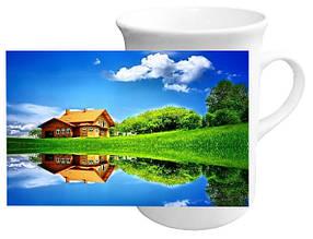 """Чашка с Вашим дизайном в форме """"Тюльпан"""""""
