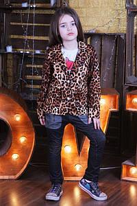 """Детский пиджак """"Леопард"""""""