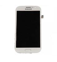 Дисплей для Samsung i9082 Galaxy Grand Duos + touchscreen. белый. с передней панелью