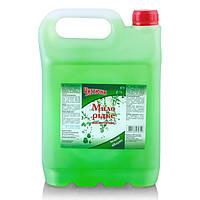 Жидкое мыло в канистре Зеленое яблоко 5 л