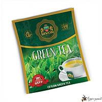 Зелёный чай Rivon 1,5г*25 пакет/конвертов, фото 1