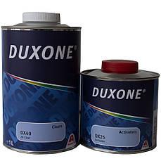 Лак акриловый Duxone DX-40 1 л комплект с отвердителем DX-25 0,5 л