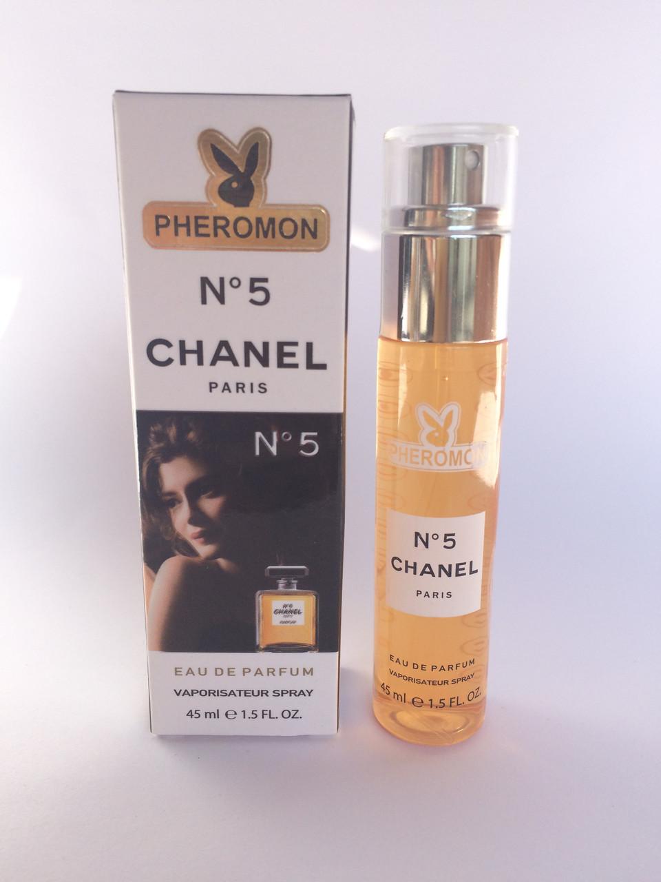 Мини парфюм женский с феромонами Chanel № 5 (Шанель №5) 45 мл