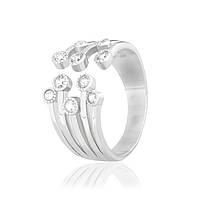 Серебряное кольцо с фианитом К2Ф/720 - 17,1