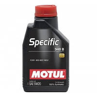 Motul SPECIFIC 948 B 5W-20 - синтетическое моторное масло - 1 л.