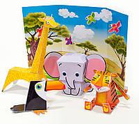 Набор для творчества 953035 «Puppet show. Wild world» 1 Вересня