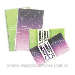 Маникюрный набор Kartopu сиренево-фиолетовый