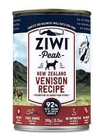 Ziwi Peak Moist Venison For Dogs - консервы для собак (оленина) 390г.