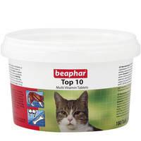 Комплекс витаминов, минералов и микроэлементов для кошек Beaphar Top 10 Cat 180 табл.