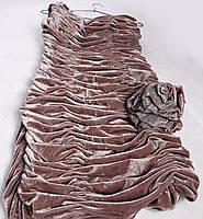 Коктейльное платье с розой