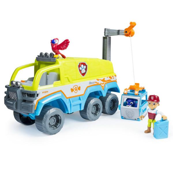 Paw Patrol Щенячий патруль Спасательный джип серия Джунгли Paw Terrain Vehicle