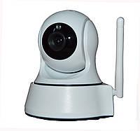 Поворотная wi-fi  ip-камера для видеонаблюдения 720HD