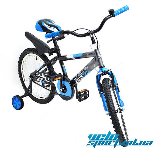 "Детский велосипед Azimut Stitch Premium 18"""