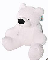 Плюшевый Медведь Алина Бублик 110 см белый
