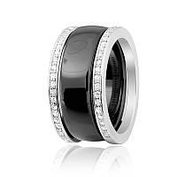 Серебряное кольцо керамическое К2ФК/1001 - 18,7