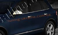 Накладки на зеркала Omsa на Volkswagen Touareg 2010