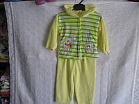 Спортивный костюм детский велюр р 86-92