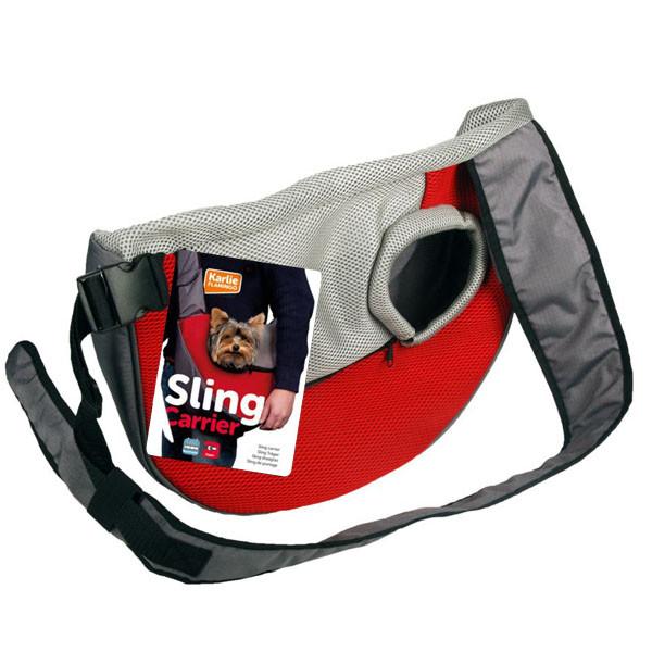 Karlie-Flamingo Sling Carrier КАРЛИ-ФЛАМИНГО СЛИНГ переноска для собак, ткань