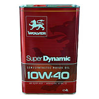 Моторное масло WOLVER Super Dinamic 10w40 4л SJ/CF