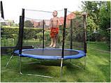 Батут SkyJump 8 фт., 252 см із захисною сіткою і сходами - Найкраща ціна!, фото 4