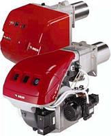 Двухступенчатые горелки (газ - дизельное топливо) серии RLS