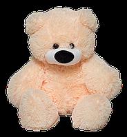 Мягкая игрушка медведь Алина Бублик 77 см персиковый