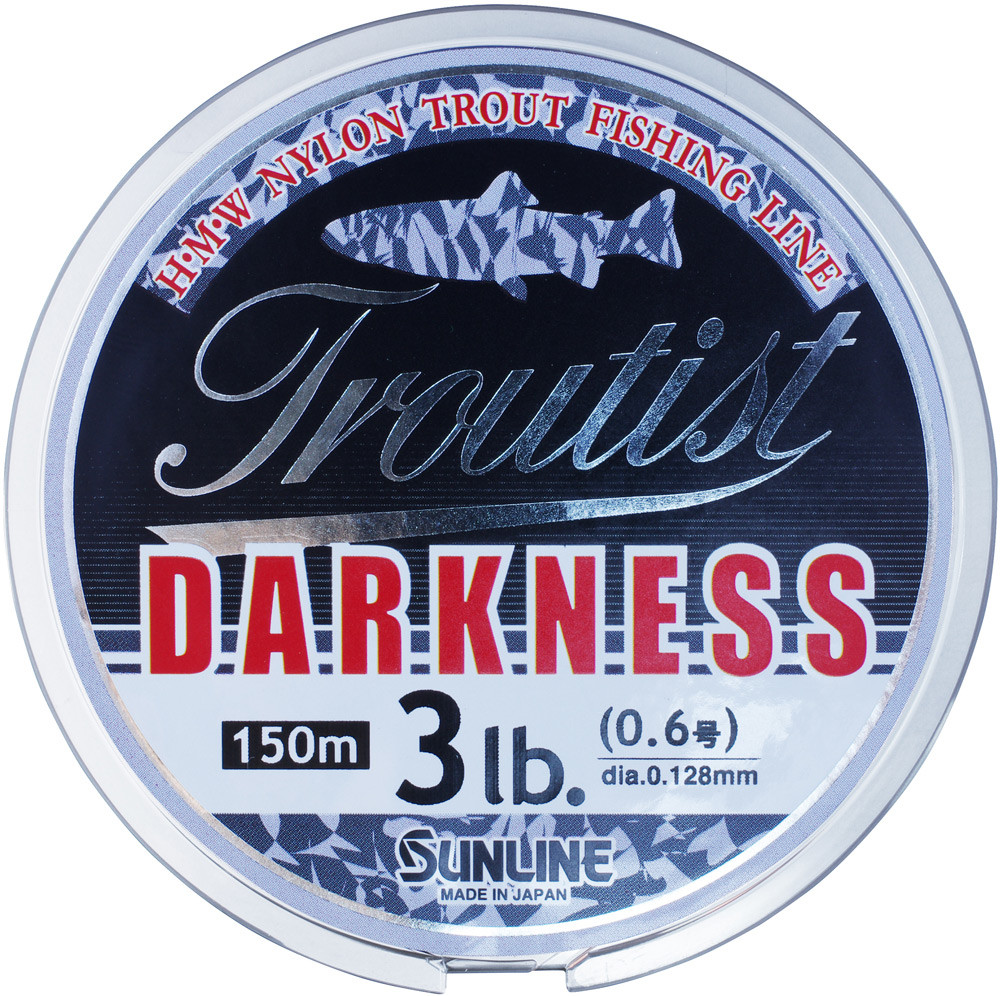 Леска Sunline Troutist Darkness HG 150м 0.148мм