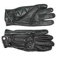 Roleff RO 64 Leather Gloves Black, S Мотоперчатки летние
