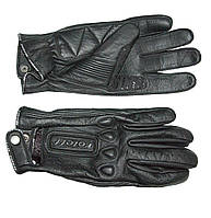 Roleff RO 64 Leather Gloves Black, S Мотоперчатки летние