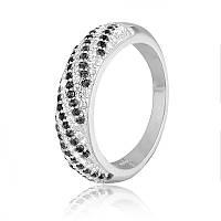 Серебряное кольцо с фианитом К2ФО/803 - 18,1
