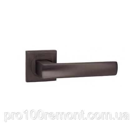 Ручка дверна на розетці NEW KEDR R08.157-AL-SN/CP, фото 2