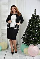 Костюм 0391-2-2 Черный жакет + Черная юбка (на фото с блузкой 0392-2)