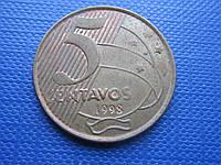Монета 5 сентаво Бразилия 1998 фауна птица