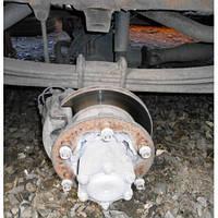 Мост ведущий задний  Mercedes Sprinter 903 34:7 с ABS A0003500400 2000-2006гг