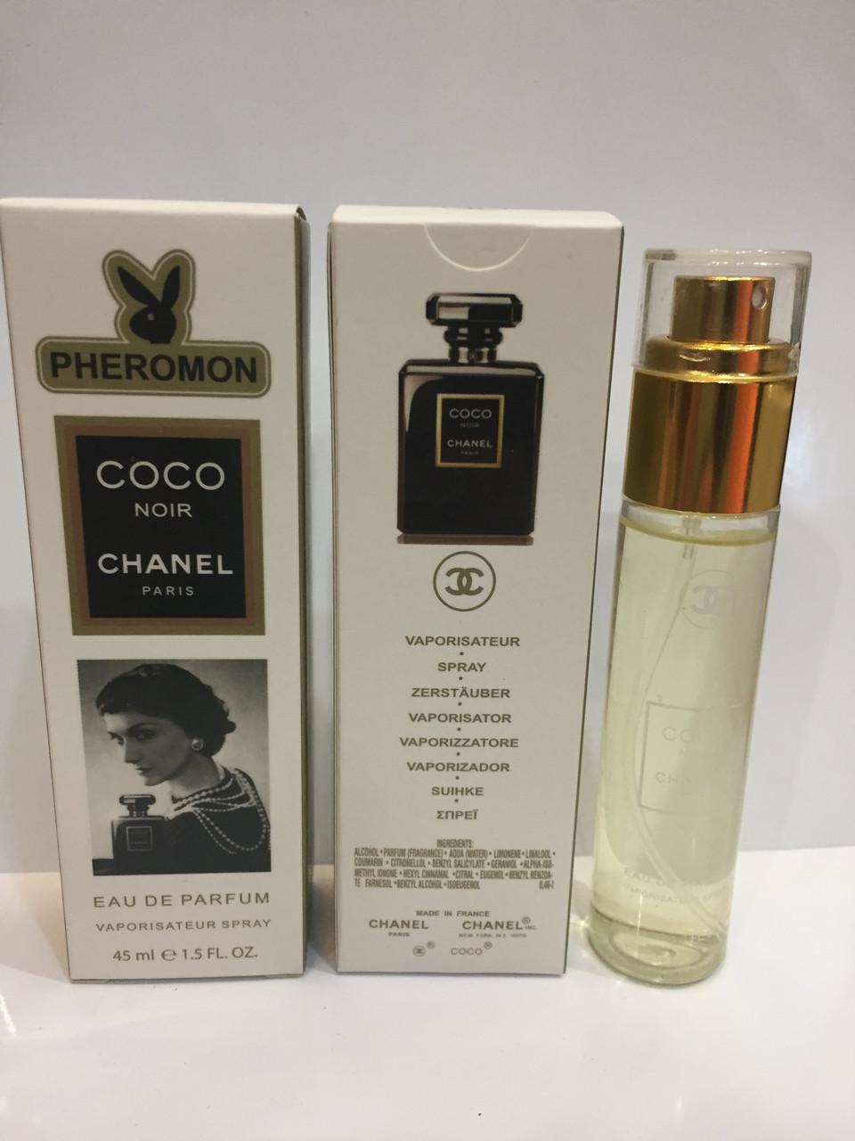 Мини парфюм женский с феромонами Chanel Coco Noir (Шанель Коко Нуар) 45 мл