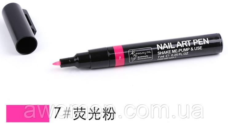 Ручка для дизайна ногтей Nail Art Pen  № 7