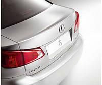 Защитная пленка заднего бампера Lexus IS Новая Оригинальная