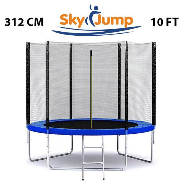 Батут SkyJump 10 фт., 312 см. з захисною сіткою - КРАЩА ЦІНА!