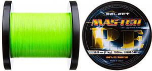 Шнур Select Master PE 1000m (салат.) 0.14 мм 17кг (1870.01.82 )