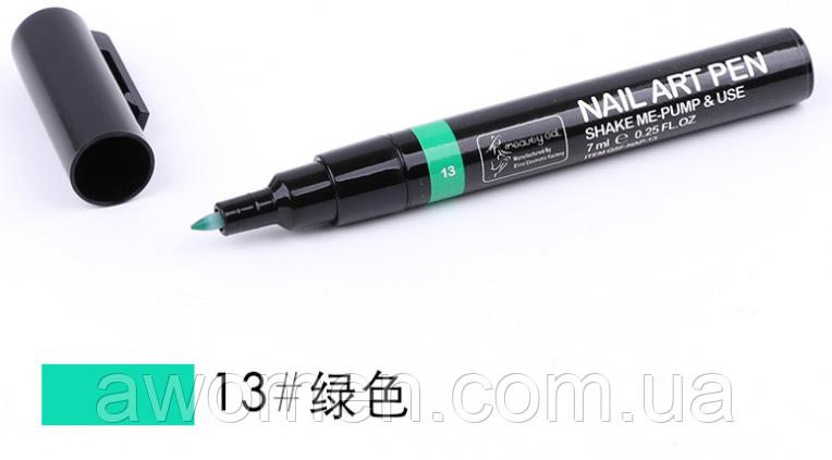Ручка для дизайна ногтей Nail Art Pen № 13