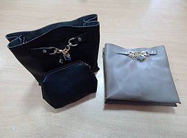 Женская Сумочка с кошелечком и замочком