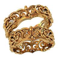 Обручальные кольца из золота (пара) арт. 800220