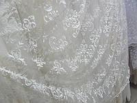 Тюль с вышивкой, фото 1