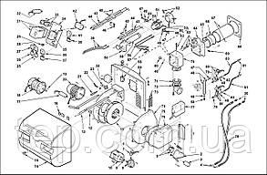 Запасні частини до пальника Riello RLS 28 38 50