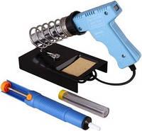 Набор для пайки ZD303A (паяльник 220V 30W, оловоотсос, подставка, припой)