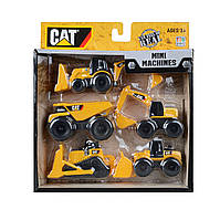 "Набор машинок ""Строительная техника""  CAT (5 шт) ОРИГИНАЛ Toy State"