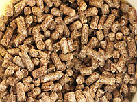 Пеллеты древесные, сосна, в мешках 15 кг