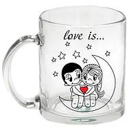 Чашка с Вашим дизайном стеклянная прозрачная G-Mug11