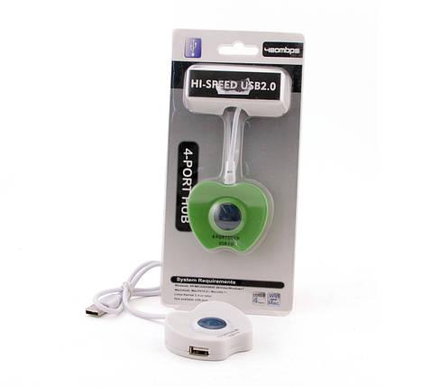 Хаб USB 2.0 AtCom TD1031, Color, 4xUSB, фото 2