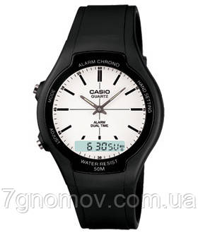 Часы наручные мужские CASIO Standard Combi арт. AW-90H-7EVEF, фото 2